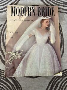 Modern Bride Magazine - Spring 1952 Issue - Vintage