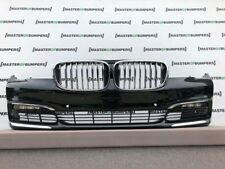 BMW 7 SERIES LUXURY G11 G12 2016-2018 FRONT BUMPER IN WHITE FULL COMPLETE [B296]