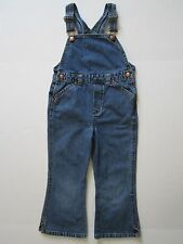 GAP Girl's Denim Overalls 4yrs Blue Jeans Country Romper Childs Jumper Pants