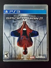 The Amazing Spiderman 2 sony PLAYSTATION 3 PS3 LN Parfait État Complet