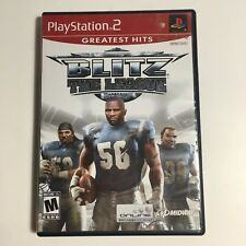 Blitz The League Playstation 2 Great condition