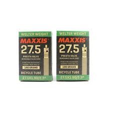 x2 Maxxis Welter Weight 27.5 x 1.90 / 2.35 VTT Presta Chambre à Air / Tubes Tire