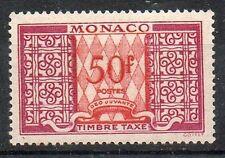 Monaco Taxe  N° 38A neufs **