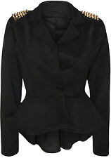 No Pattern Regular Cropped Coats & Jackets for Women