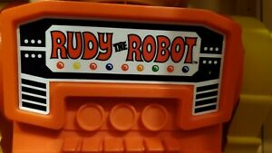Remco Rudy the Robot chest sticker