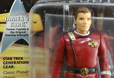 "Generations Captain James T Kirk      Star Trek 1994 5"" Playmates Star Trek MOC"
