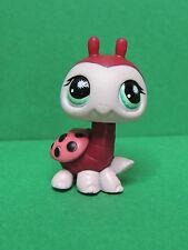 #888 Coccinelle pink red Ladybug blue eye LPS Littlest Pet Shop Figurine figure