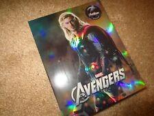 AVENGERS Novamedia WEA Steelbook 3D Blu-ray Full Slip C Nova Thor NEW Marvel
