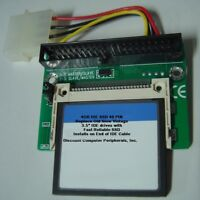 "4GB SSD Replace Vintage 3.5"" IDE Drives with this 40 PIN IDE SSD Card & Adapter"