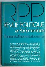 Revue Politique et Parlementaire 5/1976; Société libérale et plein emploi/ Spécu