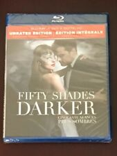 Fifty Shades Darker Unrated (Canadian Blu-ray/DVD with USA Compatible Discs) NEW