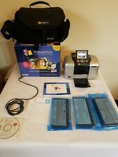 Epson PictureMate Personal Photo Lab tested working new ink and travel case