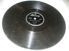 """RAY CURA JACK HALLORAN SINGERS YOURS /HOW AM I TO KNOW 10"""" 78 Mercury 70021 1951"""