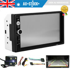 7in Double 2Din Stereo Car MP5 Player Bluetooth Touch Screen FM + Camera AU Ship