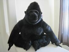 "GIANT Huge Big Aurora GORILLA 42"" Ape Monkey Plush Stuffed Animal EXCELLENT COND"