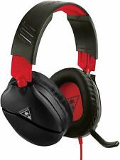 Turtle Beach Recon 70 Black/Red Headset for Nintendo Switch and others