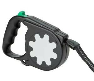 IKEA LURVIG LEASH Quality Retractable Dog Leash Black 55 lb Limit FREE SHIPPING