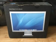 """Apple Cinema Display 20"""" Widescreen LCD Monitor with 65W Power Adaptor in Box"""