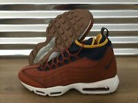 Detalles de Para Hombre Nike Max 95 Bota Lino Ale Air Marrón Vela Boot 806809 201 ver título original