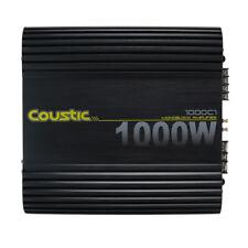 *NEW* COUSTIC 1000C1 1000W CLASS-AB MONOBLOCK CAR AUDIO AMPLIFIER (1000-C1)