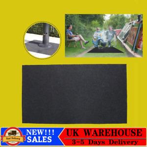Fire Retardant Resistant BBQ Floor Mat Rug Barbecue Grill Pad Floor Protector