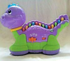 Leap Frog Lettersaurus Purple Dinosaur Learning Toy Alphabet Letters Abc's