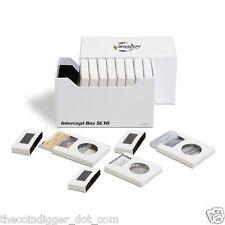 Intercept Double Protection Storage Box Coin Slab Holder 10pk Silver Gold Safe