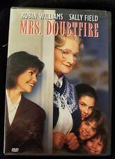 Robin Williams MRS. DOUBTFIRE ~ 1993 Cross Dressing Nanny Family Comedy UK DVD