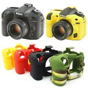 Rubber Protection Case For Nikon D750 D5500 D5600 D7200 D5300 D3400 D7500 Z7 Z6