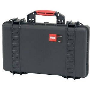 NEW! HPRC 2530F Hard Case with Cubed Foam Interior (Black/Red)