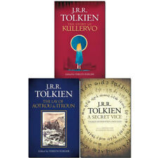 J. R. R. Tolkien Collection 3 Books Set The Story of Kullervo, A Secret Vice NEW