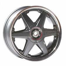 Lenso Polished Rims with 4 Studs