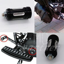 Black CNC Edge Cut Shifter Peg For Harley Touring Softail Sportster Dyna