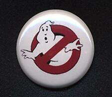 GHOSTBUSTERS Badge Button Pin  -  25mm and 56mm size! GHOST BUSTERS!