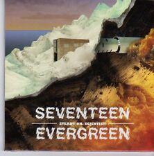 (DZ905) Seventeen Evergreen, Steady On, Scientist! - 2012 sealed DJ CD