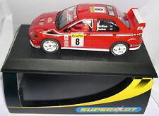 SUPERSLOT H2364 MITSUBISHI LANCER WRC   RALLY MONTECARLO 2002  SCALEXTRIC UK MB