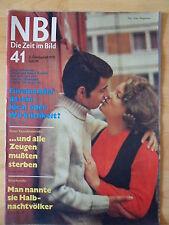 NBI 41/1972 Hochzeit Halbnacktvölker Angela Davis Gardelegen John F. Kennedy