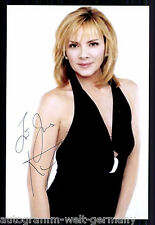 Kim Cattrall TOP Foto Orig. Sign. u.a. Sex and the City  + G 8533