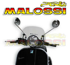 Bulle Screen transparent MALOSSI scooter VESPA VPX LML Star 80 125 150 200 NEUF