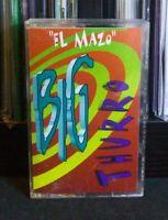 Big Thurro - El Mazo Cassette RARE OOP Latin Salsa Merengue Copa Records 1996