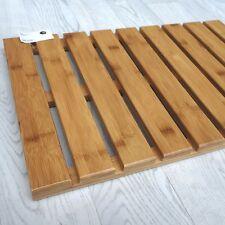 """Sorema SPA Bambú ""Alfombrilla de madera Bathmat Tapete Sauna, 39 x 59cm NUEVO"