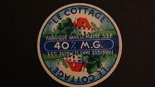 Etiquette boite de fromage - Le Cottage - Mayenne