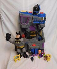 Fisher Price Imaginext BATCAVE DC Large Batman PlaySet + Robin + Talking Batman