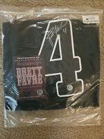 Autographed Brett Favre Minnesota Vikings Jersey #4 Black w COA
