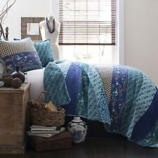 Royal Empire Quilt Peacock  3Pc Set King