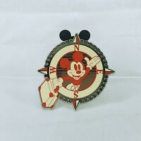 Mickey Mouse Patches Booster Set Mickey Compass With Suitcase Disney Pin 102038