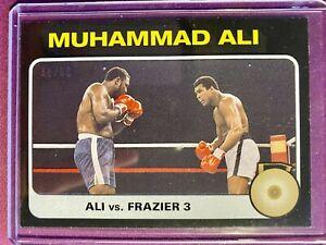 Topps The People's Champ MUHAMMAD ALI Black Parallel SP /56 Ali Vs Frazier 3 #59