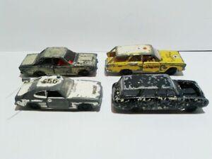 Siku set of 4 Ford Capri Taunus 17M Turnier 20M die cast no boxes used