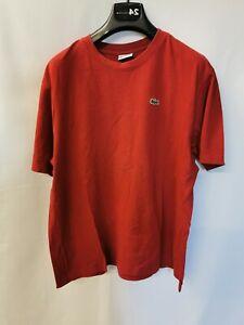 Lacoste Sport Herren tshirt oberteil rot 5 RQ019