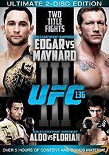 UFC 136 Edgar vs Maynard 3 (DVD, 2011, 2 Disc Set) Region 4